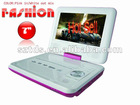 Portable DVD Player WITH DVB-T H.264 1080P