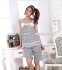Girls cute short pajamas