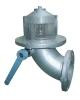 Manual bottom valve