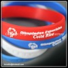 Top Quality Embossed Silicone Wristband