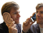 Iphone 4 case huge ear