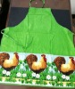 printed The cock pocket cotton kitchen apron
