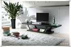 black tempered glass for TV table