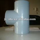 UPVC/CPVC Schedule 80/40 fittings Tee