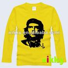 yellow hoodie & sweatshirt without hood with fleece fabric