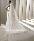 V004 simple romantic two layered tulle wedding decoration 2011