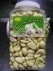 Peeled fresh garlic