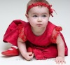 CH048 Lace Christening gown/Baptism robe