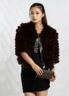 Fashion Women Fox Fur Jacket