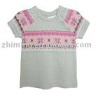fashion jacquard children sweater ZM-115