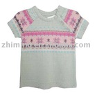fashion jacquard children sweater ZM-115