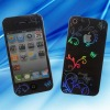 Fashion laser light magic colorful screen protector for iphone