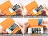 Smooth Skin PU Leather Case for iPhone 5 with Credit ID Card Slot Cover Fast Shipping