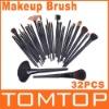 32Pcs Full Set Studio Goat Hair Makeup Brush