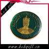 decorative antique medallion medal with characters