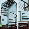 Spiral steel stairs 9002-1