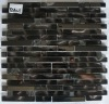 NEW ITEM--glass mosaic,glass tile mixed metal mosaic--YDA021
