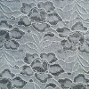 white shaoxing cheap jacquard lace fabric