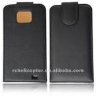 New Soft Faux Leather Flip Case Cover Skin Protective For Samsung I9100