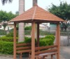 High quality WPC gazebo for outdoor decoration