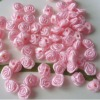 9mm Satin Ribbon Rose Flower Craft Trim Bridal Pink