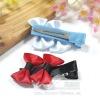 Ribbon Bows Hair Clips