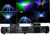 4lens 290mw green purple night show laser