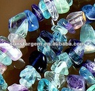 green fluorite gemstone chips