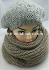 2012 ladies' Acrylic knitted neck warmer