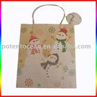 new christmas paper bag