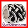 Wholesale Fashion Silver Plated European Cylinder Cancer Beads For Bracelets Cheap