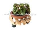 Outdoor Plant Caddy, Plant Dolly, Garden Planter Stand