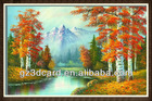 3D picture of natural scenery 3d picture with/without frame