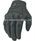 ICON PERSUIT GLOVES NEW Leather/Carbon Gloves for Motorcycling Icon gloves - WITH HOLE