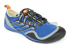 2011 casual men hiking shoes with blue