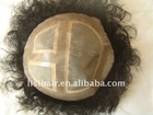 pure indian hair men's toupee