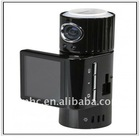 HD720P 140 Degree Wide Angle Lens Digital Camera 200 Degree Rotating Lens 5.0M CMOS Digital Video Camera TF3