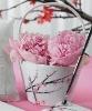 Cherry Blossom Flower Girl Wedding Basket