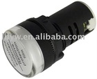 AD16-22D/S pure white 22mm led signal light