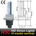 H3C ceramics base 18 months warranty,CE approved,hid bulbs