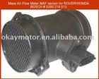 mass air flow meter MAF sensor for ROVER 0280 218 012