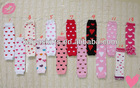 Wholesale Baby Knitted Heart Design Leg Warmer In Stock