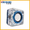 Kedimei usb portable mini speaker with cube crystal material(MS38)