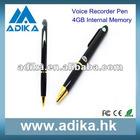 4GB Pen Style USB Voice Recorder