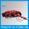 Disc harrow with hydraulic