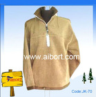 Men's khaki polar fleecy jacket(JK-70)