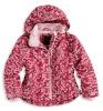 Fashion designer children's ski jacket kids outdoor wear