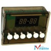 electric oven digital timer ,6 buttons digital timer