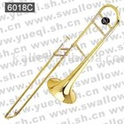 6018C Brass & Nickel Plated Tenor Trombone