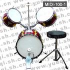 MIDI-100-1 Red Jazz Drum kit